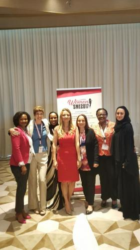 Founder Value Connect attending Women SME conference Dubai 2017
