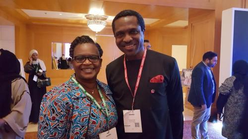 Founder Value Connect with Tonye Cole - CEO Sahara Group Nigeria at Global WIL Economic Forum 2017